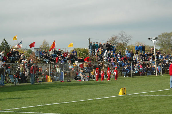 October 22nd, 2005: The 2005 Shelby Lions Football Club Flag team vs. the Royal Oak Chiefs at Royal Oak Memorial Park (Royal Oak 12, Shelby 0).