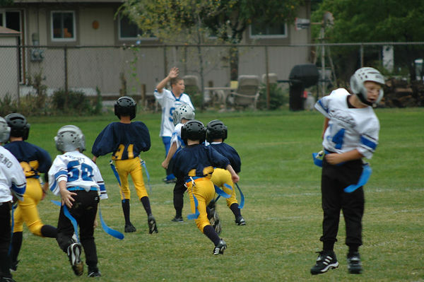 September 17th, 2005: The 2005 Shelby Lions Football Club Flag team vs. the Royal Oak Chargers at the Shelby Lions Football Club Field - Homecoming and 25th Anniversary (Shelby 28, Royal Oak 0).