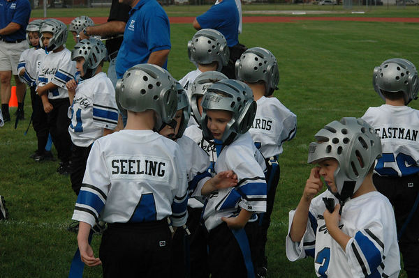 September 24th, 2005: The 2005 Shelby Lions Football Club Flag team vs. the Madison Heights Wolverines at Madison High School (Shelby 16, Madison Heights 0).