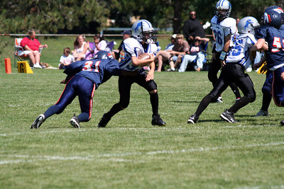 Game #2 - September 1, 2007: The 2007 Shelby Lions vs. the Roseville Broncos at Shelby Lions Home Field