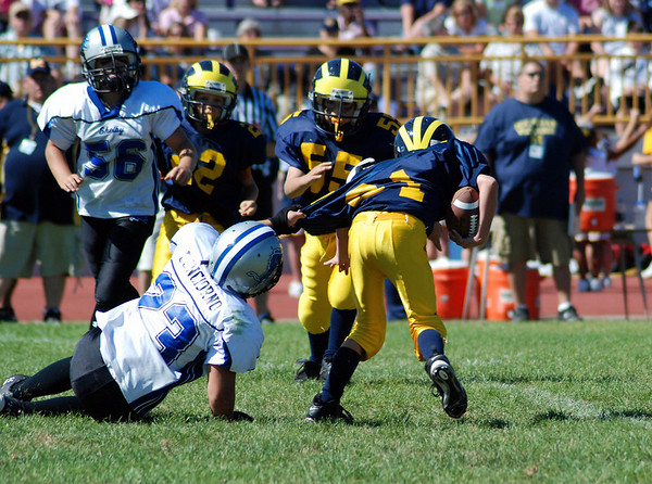 Game #5- September 23, 2007: The 2007 Shelby Lions vs. the Madison Heights Wolverines at Madison High School