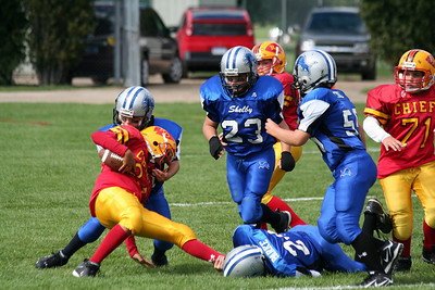 Game #4 - September 15, 2007: The 2007 Shelby Lions vs. the Royal Oak Chiefs at Royal Oak Memorial Park