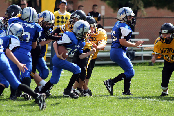 Game #6 - September 29, 2007: The 2007 Shelby Lions Football Club  vs. the Clawson Mavericks