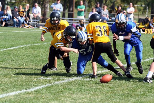 Game #6 - September 29, 2007: The 2007 Shelby Lions Football Club  vs. the Clawson Mavericks