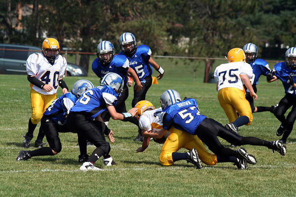 Game #3 - September 9, 2007: The 2007 Shelby Lions vs. the Royal Oak Chargers at Shelby Lions Home Field