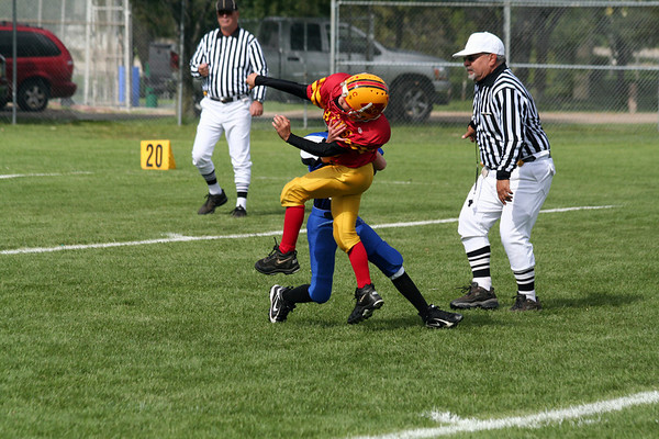 Game #4 - September 15, 2007: The 2007 Shelby Lions vs. the Royal Oak Chiefs at Royal Oak Memorial Park