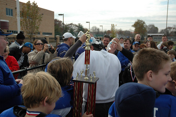 Superbowl - November 5, 2006: The 2006 Shelby Lions Football Club JV Team vs. the North Farmington/West Bloomfield Vikings at Hazel Park High School (Shelby 27, NFWB 7).