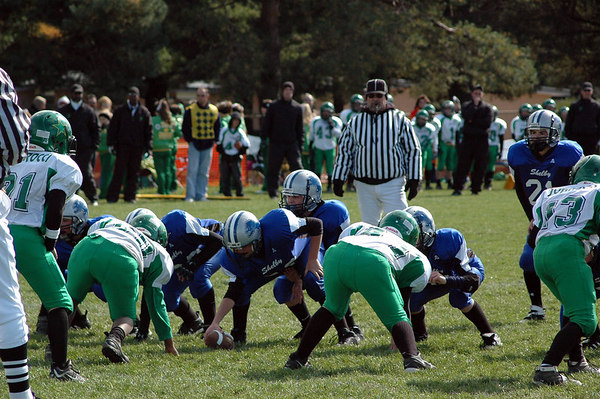 Game #8 - October 14, 2006: The 2006 Shelby Lions Football Club JV Team vs. the Troy Cowboys at Shelby Lions Home Field (Shelby 32, Troy 0).