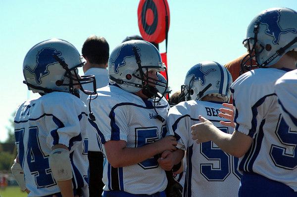 Game #7 - October 7, 2006: The 2006 Shelby Lions Football Club JV Team vs. the Roseville Broncos at Roseville High School (Shelby 32, Roseville 0).