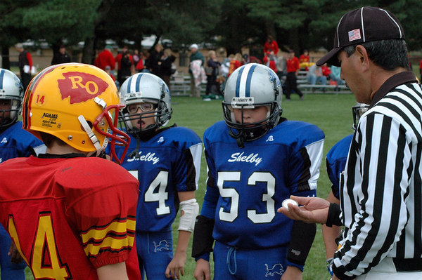 Game #3 - September 10, 2006: The 2006 Shelby Lions Football Club JV Team vs. the Royal Oak Chiefs at Shelby Lions Home Field (Shelby 32, Royal Oak 0).