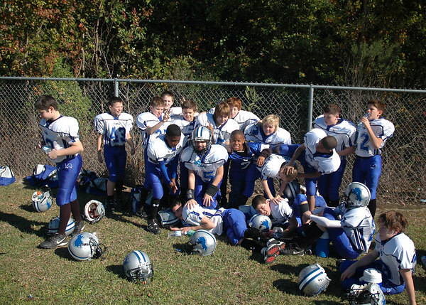 November 23-25, 2006: The 2006 Shelby Lions Football Club JV Team competes in the Turkey Day Classic National Football Tournament in Mobile Alabama.  The team wins 2nd place.
