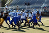 Game #9 - October 20, 2007: The 2007 Shelby Lions Football Club Varsity Team vs. the Berkley Steelers at Hurley Field (Shelby 30, Steelers 0).