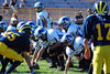Game #5 - September 23, 2007: The 2007 Shelby Lions Football Club Varsity Team vs. the Madison Heights Wolverines at Madison High School (Shelby 16, Madison Heights 18).
