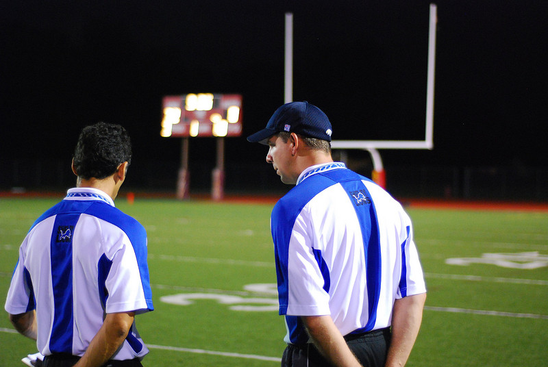 Game #7 - October 6, 2007: The 2007 Shelby Lions Football Club Varsity Team vs. the Troy Cowboys at Troy Athens High School (Shelby 0, Troy 32).
