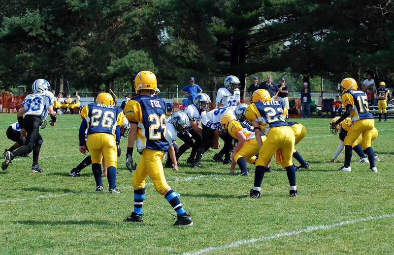 Game #3 - September 9, 2007: The 2007 Shelby Lions Football Club Varsity Team vs. the Royal Oak Chargers at Shelby Lions Home Field (Shelby 39, Royal Oak 12).
