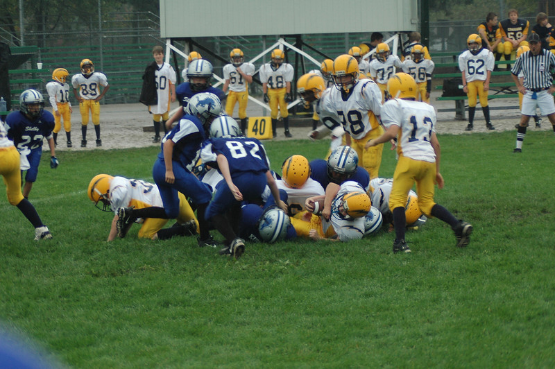 JV Game #3 - Shelby Lions Vs Royal Oak Charger 9/13/2008 W 32-0 JV Game #4 Shelby Lions Vs Madison Heights Wolverines 9/20/2004 W 20-14 (2OT)