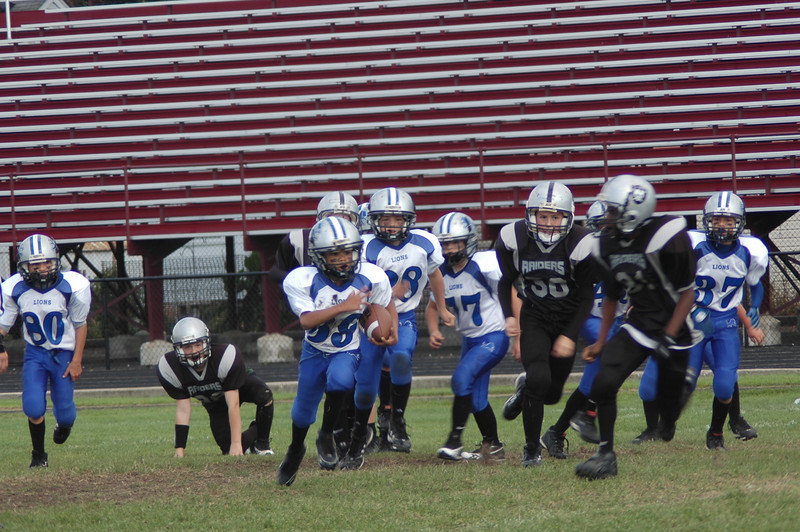 JV Game #6 Shelby Lions Vs Hazel Park Raider 10/4/08 W 32-0 JV Game #4 Shelby Lions Vs Madison Heights Wolverines 9/20/2004 W 20-14 (2OT)