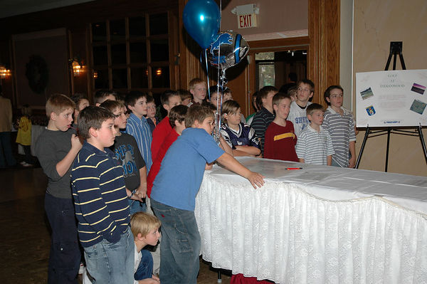 November 20th, 2005: The 2005 Shelby Lions Football Club Banquet