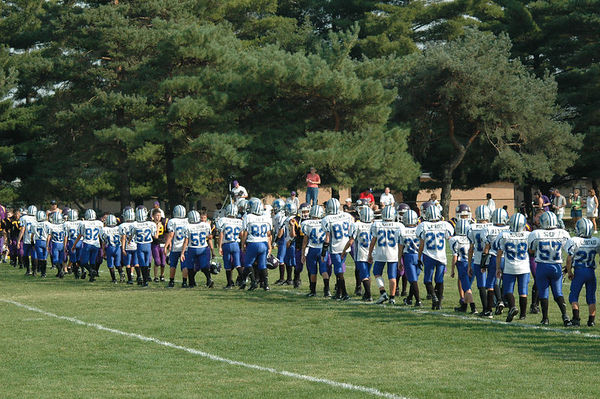 October 2nd, 2005: The 2005 Shelby Lions Football Club JV team vs. the North Farmington/West Bloomfield Vikings at the Shelby Lions Football Club Field (Shelby 14, North Farmington/West Bloomfield 0).