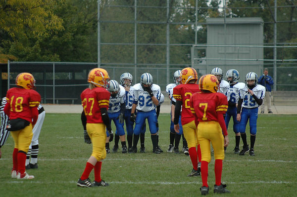October 22nd, 2005: The 2005 Shelby Lions Football Club JV team vs. the Royal Oak Chiefs at Royal Oak Memorial Park (Shelby 32, Royal Oak 12).