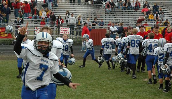 November 5th, 2005: Playoffs - The 2005 Shelby Lions Football Club JV team vs. the Royal Oak Chiefs at Hazel Park High School (Shelby 7, Royal Oak 0).