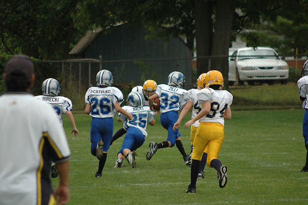 September 17th, 2005: The 2005 Shelby Lions Football Club JV team vs. the Royal Oak Chargers at the Shelby Lions Football Club Field - Homecoming and 25th Anniversary (Shelby 32, Royal Oak 0).