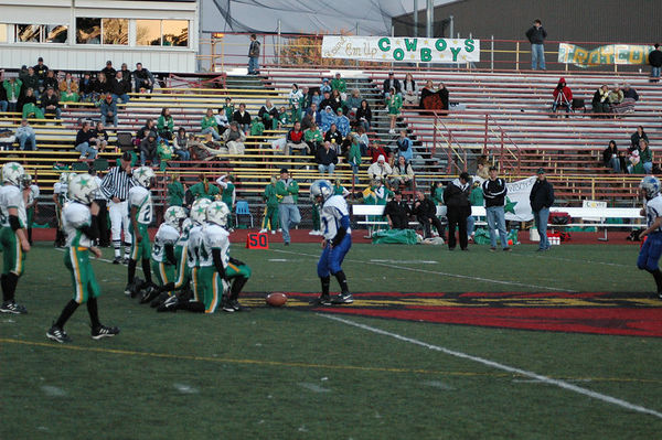 October 15th, 2005: The 2005 Shelby Lions Football Club JV team vs. the Troy Cowboys at Troy Athens High School (Troy 20, Shelby 0).