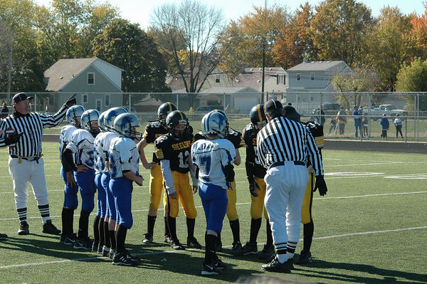 October 29th, 2005: The 2005 Shelby Lions Football Club JV team vs. the Berkley Steelers at Hurley Field (Shelby 32, Berkley 0).