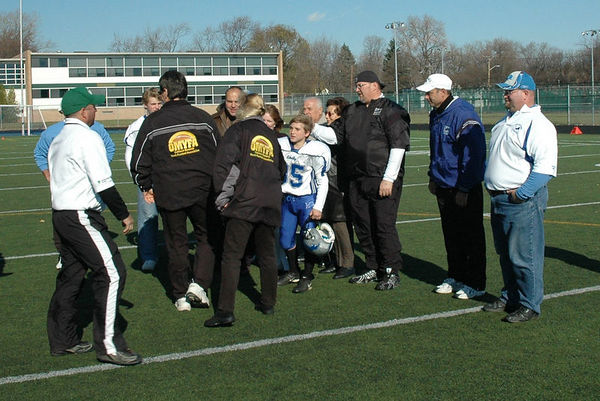 November 13th, 2005: Superbowl - The 2005 Shelby Lions Football Club JV team vs. the Troy Cowboys at Hurley Field (Troy 13, Shelby 0).