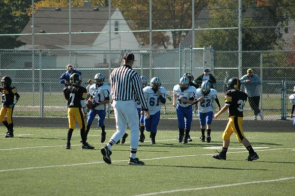 October 29th, 2005: The 2005 Shelby Lions Football Club JV team vs. the Berkley Steelers at Hurley Field (Shelby 32, Berkley 0).