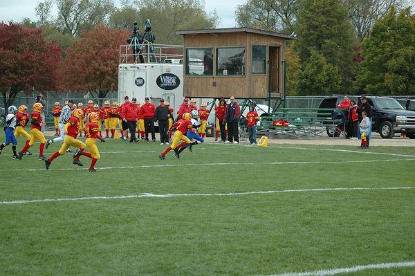 October 22nd, 2005: The 2005 Shelby Lions Football Club JV team vs. the Royal Oak Chiefs at Royal Oak Memorial Park (Shelby 32, Royal Oak 12).