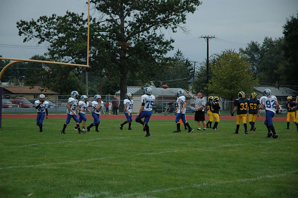 September 24th, 2005: The 2005 Shelby Lions Football Club JV team vs. the Madison Heights Wolverines at Madison High School (Shelby 32, Madison Heights 0).