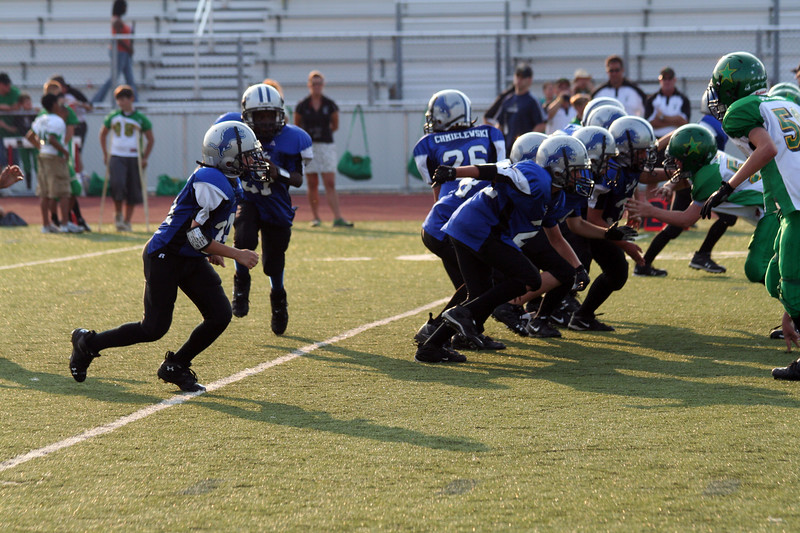 Game #7 - October 6, 2007: The 2007 Shelby Lions Football Club JV Team vs. the Troy Cowboys at Troy Athens High School (Shelby 7, Cowboys 0).