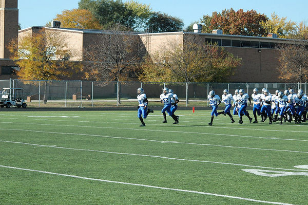 October 29th, 2005: The 2005 Shelby Lions Football Club Varsity team vs. the Berkley Steelers at Hurley Field (Berkley 30, Shelby 0).