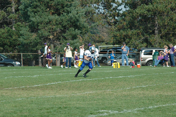 October 2nd, 2005: The 2005 Shelby Lions Football Club Varsity team vs. the North Farmington/West Bloomfield Vikings at the Shelby Lions Football Club Field (North Farmington/West Bloomfield 32, , Shelby 0).