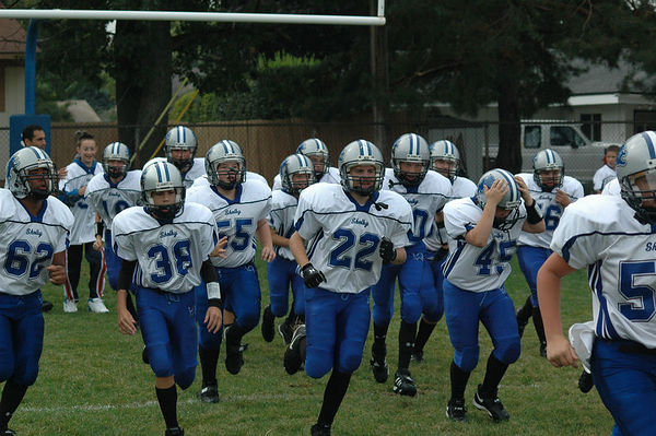 September 17th, 2005: The 2005 Shelby Lions Football Club Varsity team vs. the Royal Oak Chargers at the Shelby Lions Football Club Field - Homecoming and 25th Anniversary ( Royal Oak 28, Shelby 2).