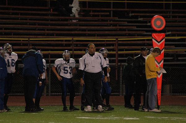 October 29th, 2005: The 2005 Shelby Lions Football Club Varsity team vs. the Berkley Steelers at Hurley Field (Berkley 30, Shelby 0).