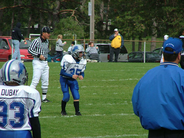 October 9th, 2005: The 2005 Shelby Lions Football Club Varsity  team vs. the Hazel Park Raiders at the Shelby Lions Football Club Field (Hazel Park 22, Shelby 8).