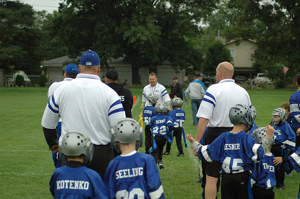 Game #3 - September 10, 2006: The 2006 Shelby Lions Football Club Flag Team vs. the Royal Oak Chiefs at Shelby Lions Home Field (Shelby 0, Royal Oak 14).