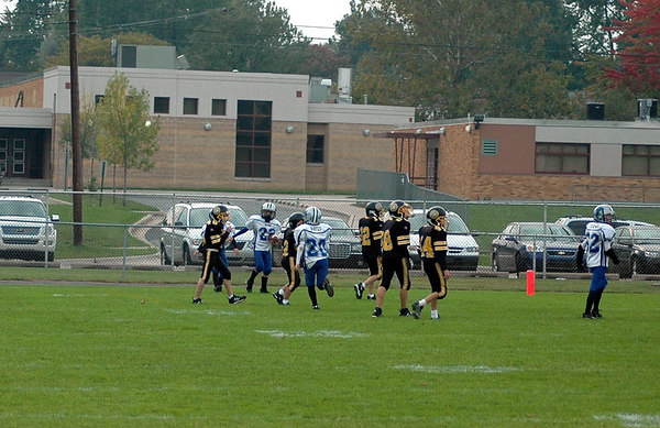 Game #6 - September 30, 2006: The 2006 Shelby Lions Football Club Freshman Team vs. the Clawson Mavericks at Clawson Park (Shelby 19, Clawson 6).