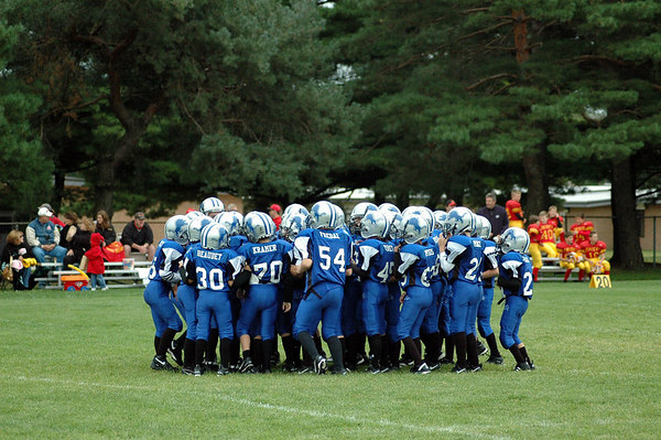 Game #3 - September 10, 2006: The 2006 Shelby Lions Football Club Freshman Team vs. the Royal Oak Chiefs at Shelby Lions Home Field (Shelby 32, Royal Oak 0).