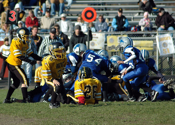 Superbowl - November 5, 2006: The 2006 Shelby Lions Football Club Freshman Team vs. the Clawson Mavericks at Hazel Park High School (Shelby 18, Clawson 0).