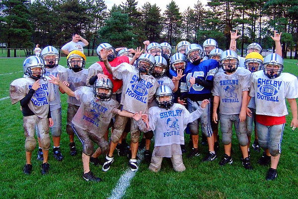 "September 27th, 2006: Freshman Practice ""Mud Bowl""<br /> New Sod $3000.00<br /> Laundry Bill $20.00<br /> Car Wash $12.00<br /> Pictures...Priceless.<br /> <br /> Thanks to John Patrico for ""Mud Bowl"" the pictures."