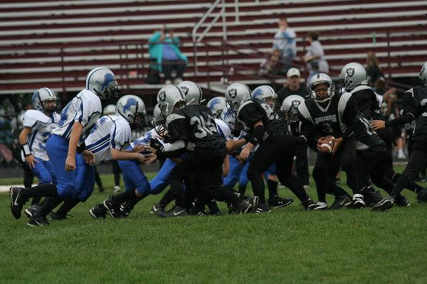 Game #4 - September 16, 2006: The 2006 Shelby Lions Football Club Freshman Team vs. the Hazel Park Raiders at Hazel Park High School (Shelby 30, Hazel Park 0).