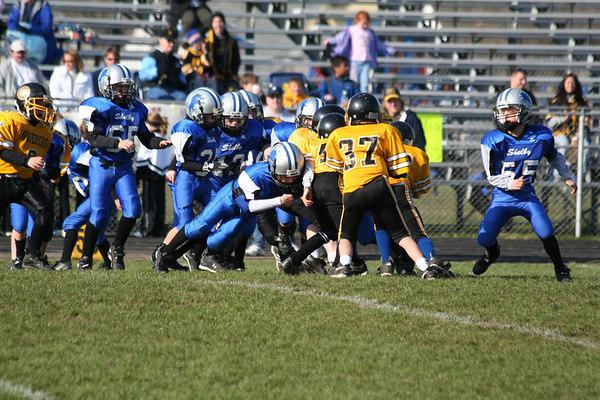 Superbowl - November 5, 2006: The 2006 Shelby Lions Football Club Freshman Team vs. the Clawson Mavericks at Hazel Park High School (Shelby 18, Clawson 0).