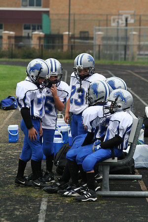 Game #4 - September 16, 2006: The 2006 Shelby Lions Football Club Freshman Team vs. the Hazel Park Raiders at Hazel Park High School (Shelby 30, Hazel Park 0).