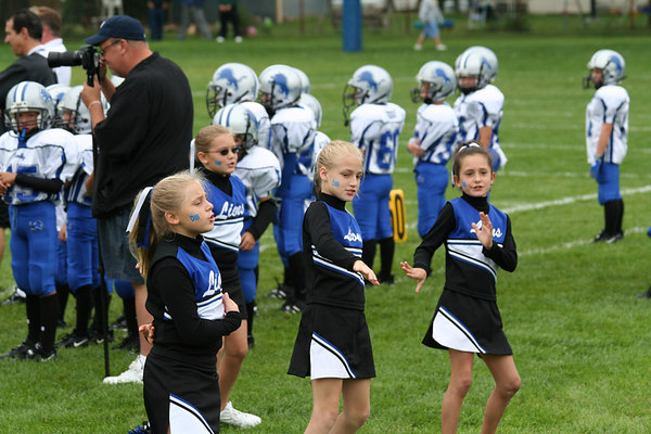Game #2 - September 2, 2006: The 2006 Shelby Lions Football Club Freshman Team vs. the Madison Heights Wolverines at Shelby Lions Home Field (Shelby 12, Madison Heights 6).  Game #5 - September 23, 2006: The 2006 Shelby Lions Football Club Freshman Team vs. the Berkley Steelers at Shelby Lions Home Field (Shelby 8, Berkley 13).