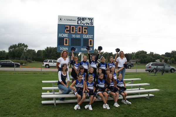 2006 JV Cheer Squad
