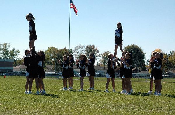 Game #7 - October 7, 2006: The 2006 Shelby Lions Football Club JV Team vs. the Roseville Broncos at Roseville High School (Shelby 37, Roseville 0).