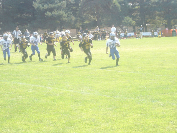 September 11th, 2005: The 2005 Shelby Lions Football Club Freshman  team vs. the Clawson Mavericks at the Shelby Lions Football Club Field (Shelby 28, Clawson 0).